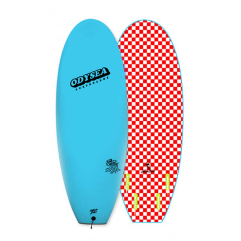 "PROMOÇÃO: Prancha Catch Surf - Odysea 5'0"" Stump- Quad -COOL BLUE"