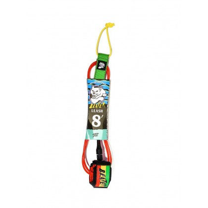 Beater 8Ft Leash - Rasta