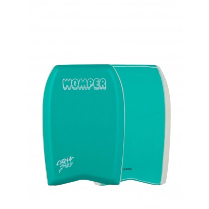 The Womper- 16 Body Surf Board Turquoise 20