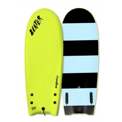 "Prancha Catch Surf - Beater Original 54"" - Twin Fin-Electric Lemon 19"