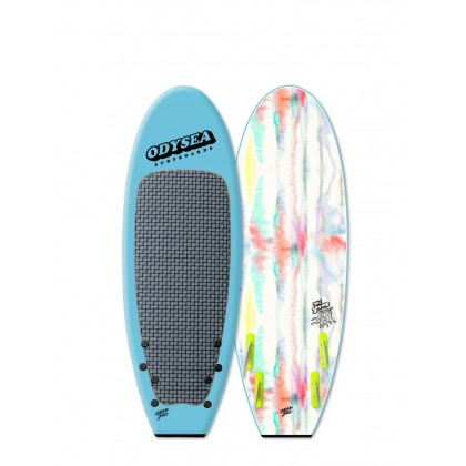 Prancha Catch Surf - Surfer- Odysea 5'0 Quad-COOL BLUE