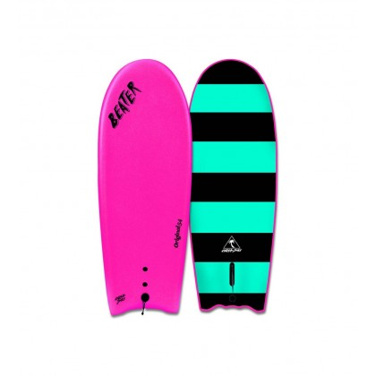 PROMOÇÃO: Prancha Catch Surf - Beater Original 54'' -  Single Fin -HOTPINK