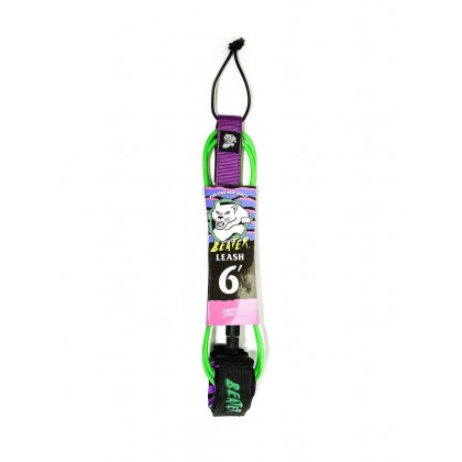 Beater 6Ft Leash - Verde / Roxo