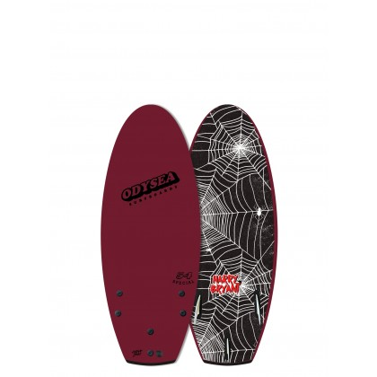 """PRANCHA CATCH SURF - Odysea 54"""" Special Harry Bryant PRO - Maroon 20"""