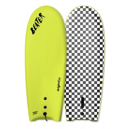 Prancha Catch Surf - Beater Original 54'' - Single Fin-ELETRIC LEMON