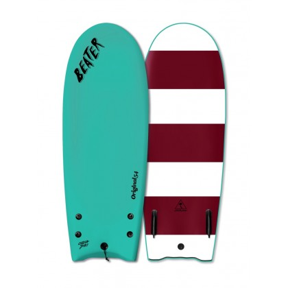 "Prancha Catch Surf - Beater Original 54"" - Twin Fin-TURQUOISE"